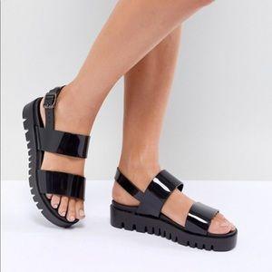 ASOS jelly platform sandal